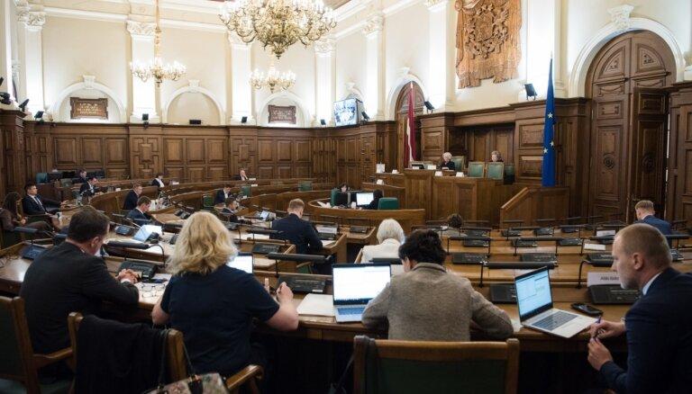 Saeima ķeras pie punkta pielikšanas novadu reformai