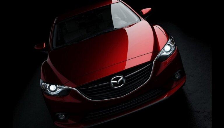 """Mazda впервые показала снимки долгожданной """"шестерки"""""""