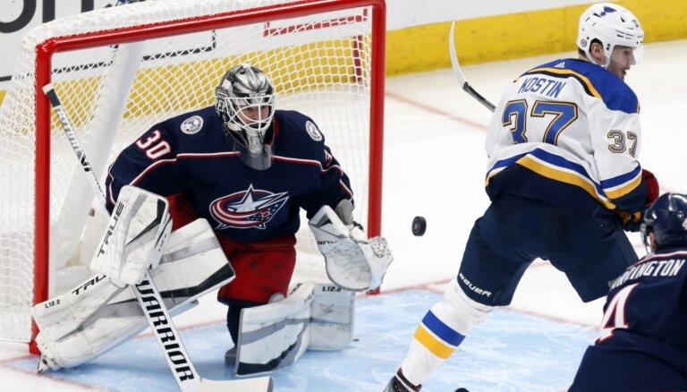 'Blue Jackets' un 'Maple Leafs' pārbaudes spēlēs uzvar bez latviešu dalības