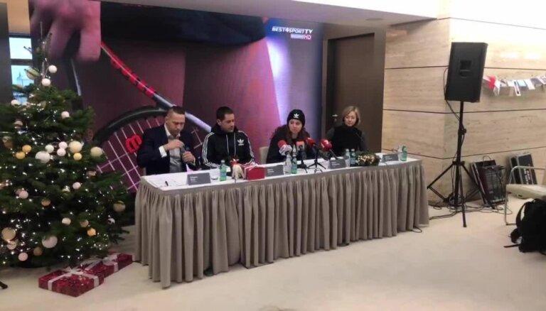 Ostapenko preses konference