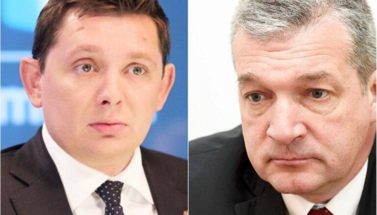 Депутат Кайминьш и его однопартиец Закатистов проведут ночь в изоляторе