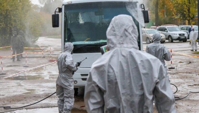 ФОТО: Как в Литве проходили учения на случай аварии на Белорусской АЭС