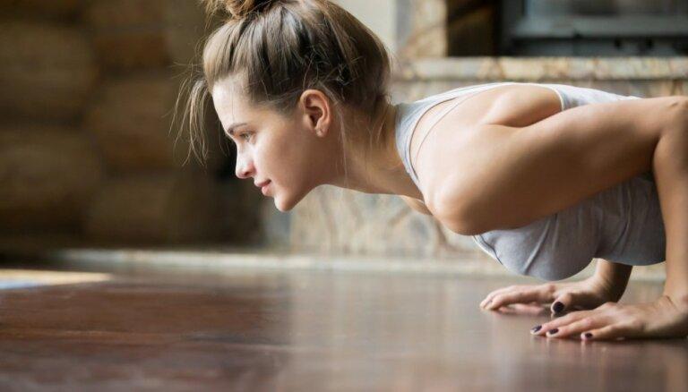 Vingrojumu kompleksi visa ķermeņa izkustināšanai, stiprināšanai un tauciņu dedzināšanai