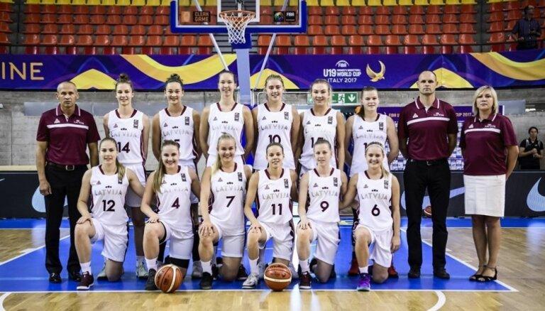 Latvijas U-19 basketbolistes Pasaules kausa izcīņu sāk ar cienījamu zaudējumu spēcīgajai Francijai