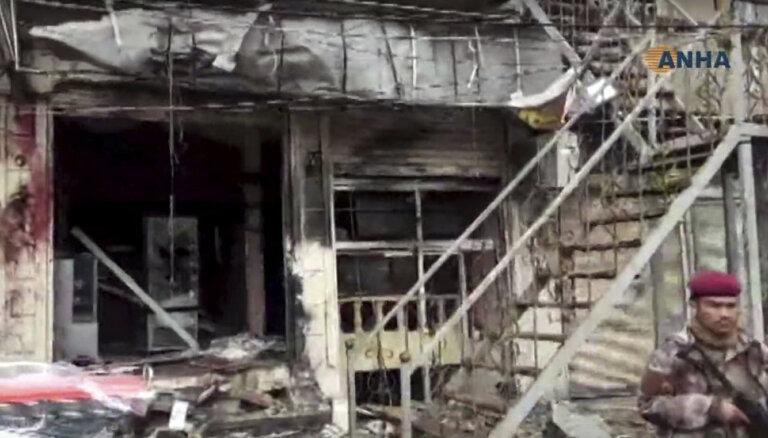 В Сирии при взрыве погибли 15 человек, в том числе американские военные