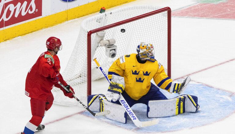 Сборная России на чемпионате мира прервала беспроигрышную серию шведов, длившуюся 14 лет
