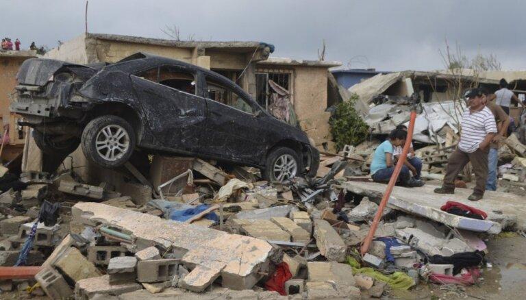 ФОТО: в Мексике в результате удара торнадо пострадали 230 человек, есть погибшие