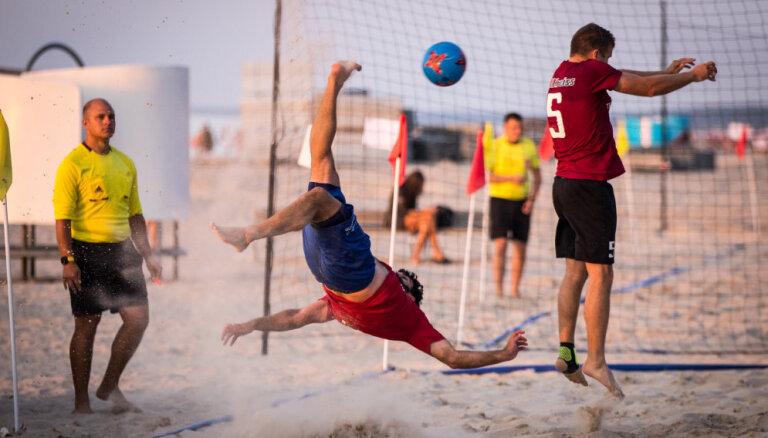 Ar Liepājas 'Linden City BSC' uzvaru noslēdzies Latvijas pludmales futbola čempionāts