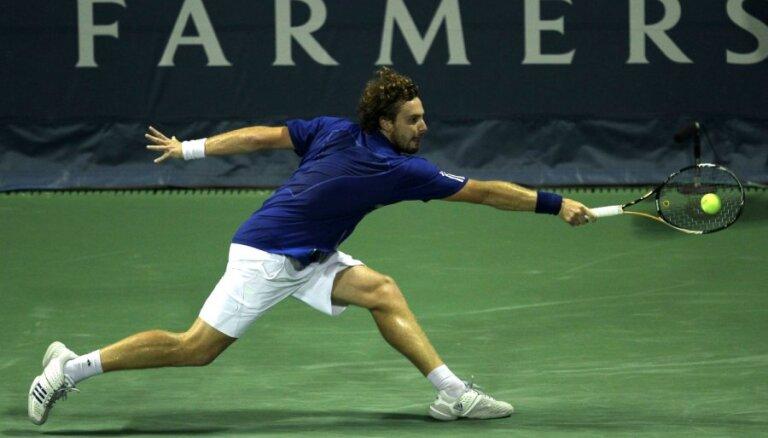 Gulbis ATP rangā atguvis trīs pozīcijas; Sevastova jau izkritusi no otrā simta