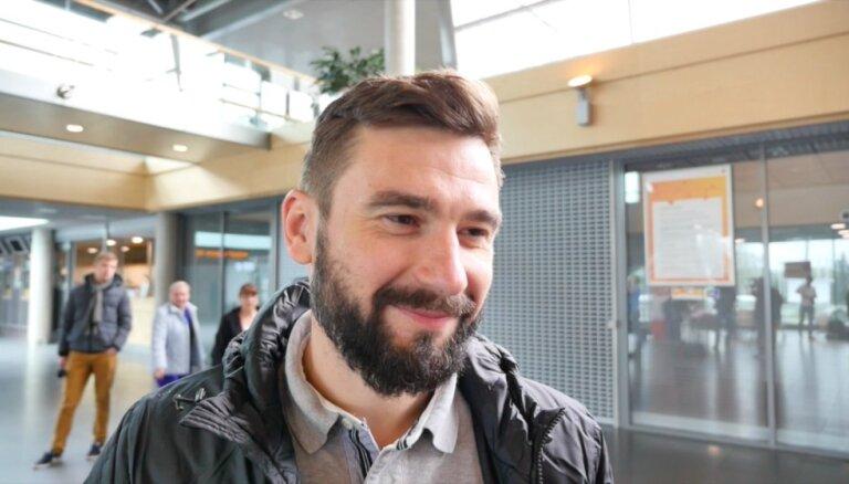 Video: Latvijas hokeja izlase dodas uz pasaules čempionātu