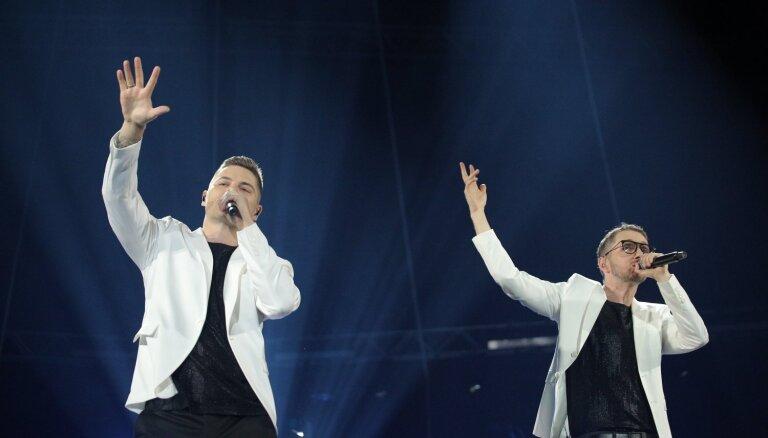 Foto: 'Musiqq' ar vērienīgu jubilejas koncertu pieskandina 'Arēnu Rīga'