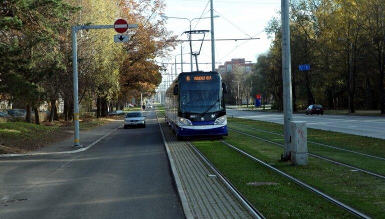 Iespējamā krimināllieta neietekmēs Skanstes tramvaja līnijas būvniecību, norāda 'Rīgas satiksme'