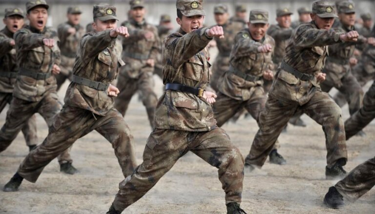 Китай заявил о военных учениях в Тихом океане
