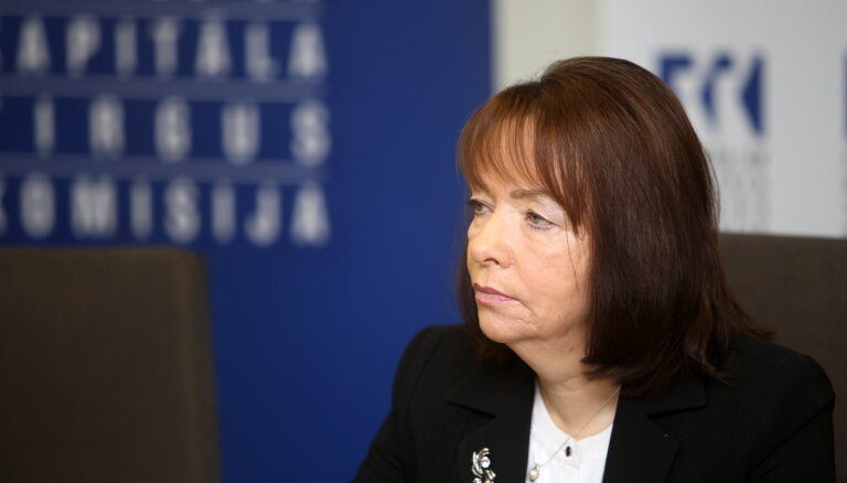 FKTK Atbilstības kontroles departamenta direktore Maija Treija atsākusi pildīt darba pienākumus
