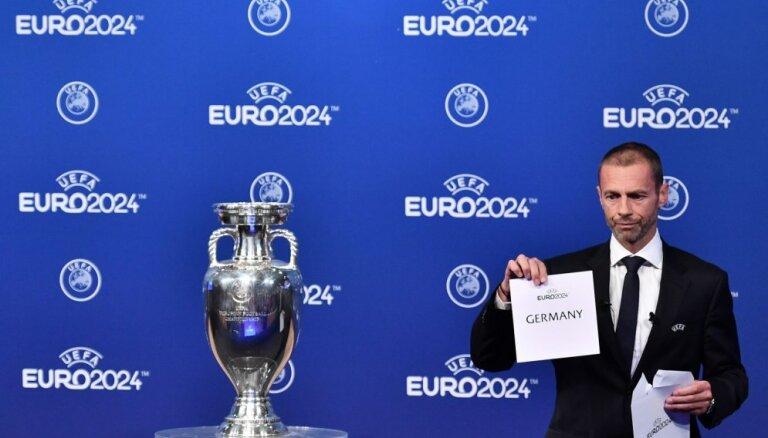 Oficiāli: 2024. gada Eiropas futbola čempionāta finālturnīru rīkos Vācija
