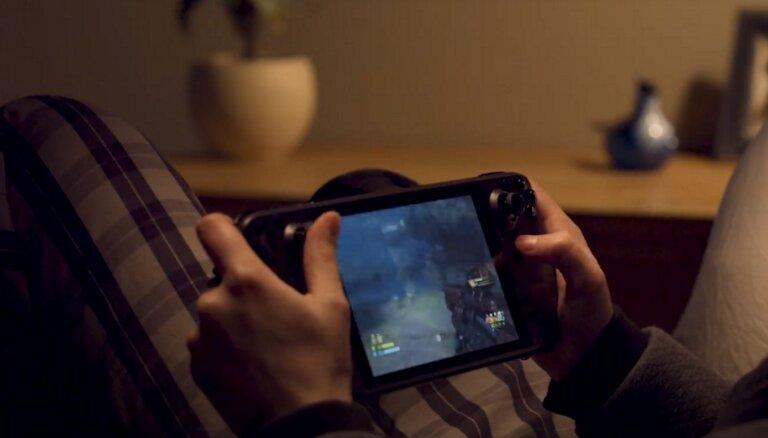 Valve представила игровую консоль Steam Deck