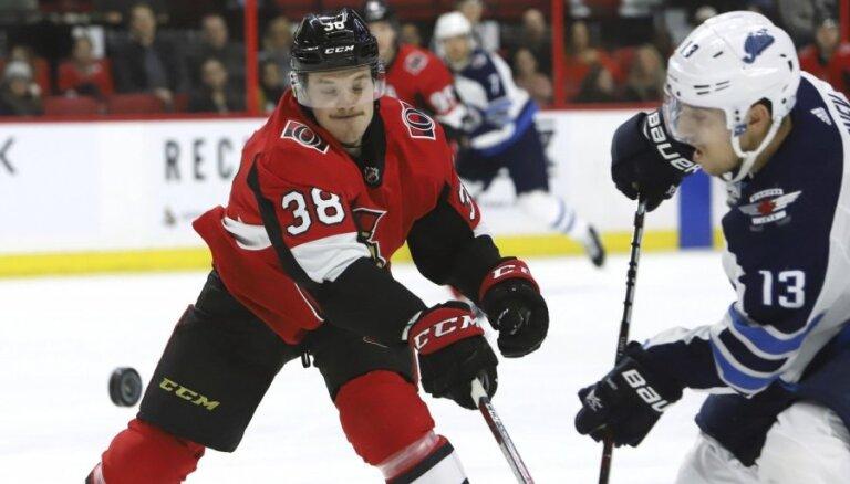 Balcers atgriezies NHL pēc īslaicīgas nosūtīšanas uz AHL