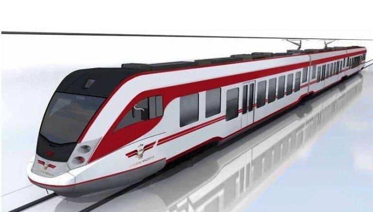 'Pasažieru vilciens' izvēlējies jauno vilcienu dizainu (+FOTO)