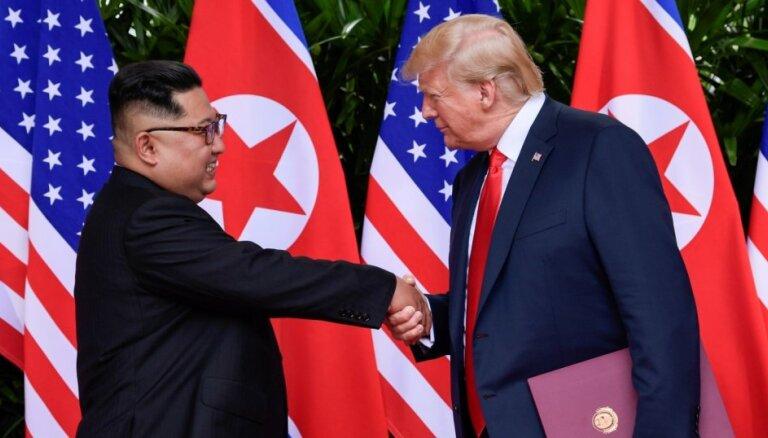 ASV un Ziemeļkoreja apsver trešo samitu, paziņo Dienvidkorejas prezidents