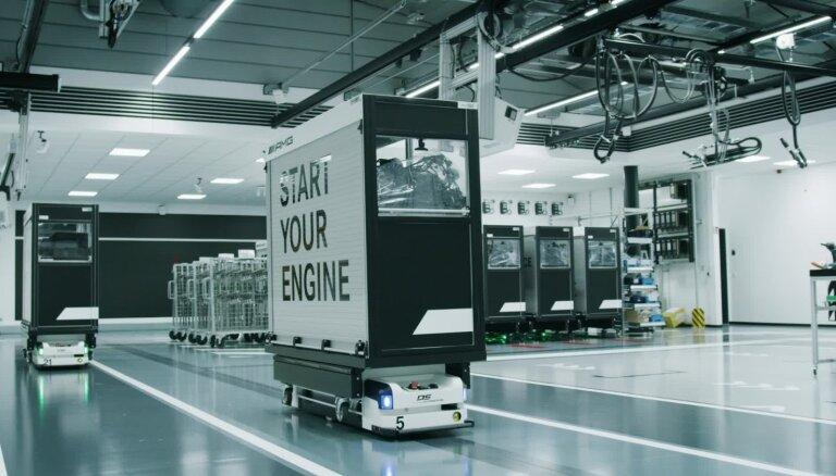 'Mercedes' izstrādājis visjaudīgako četrcilindru motoru