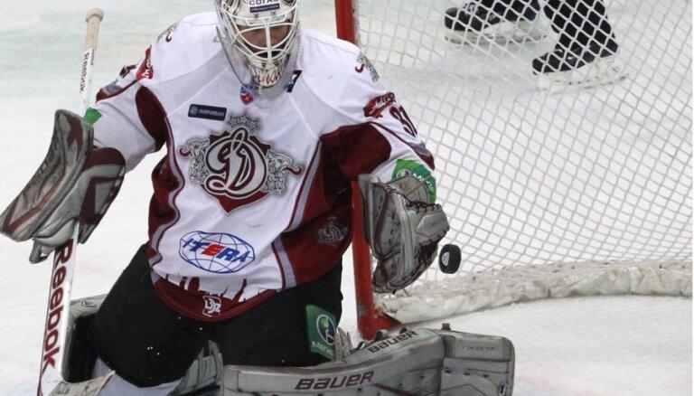 Hosa nodrošina Rīgas 'Dinamo' uzvaru pār KHL vicelīderiem 'Traktor' (18:10)