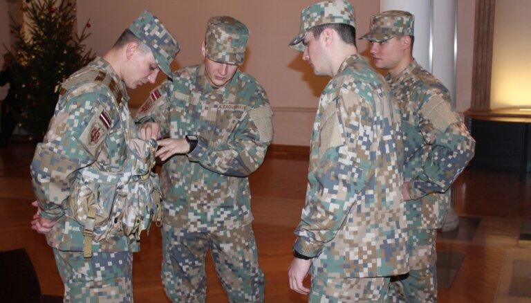 ФОТО: Латвийская армия получит новую форму