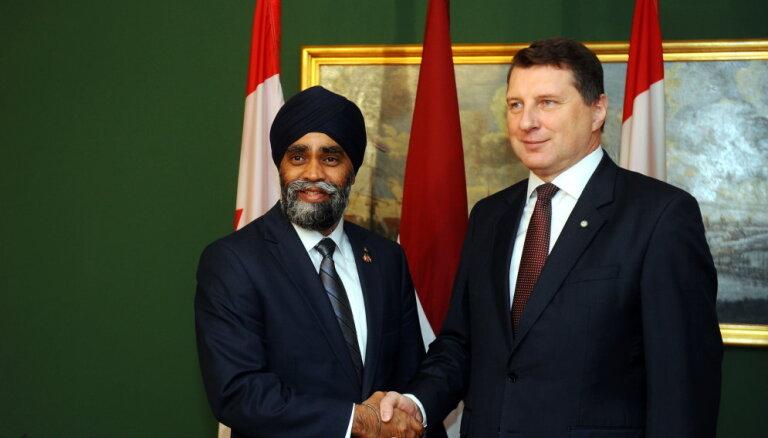 Харджит Саджан: наши военные в Латвии будут защищать и Канаду