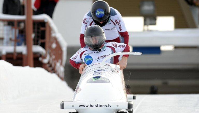 Maskalāna divniekam labākais sasniegums Latvijas bobslejā pēdējos divos gados