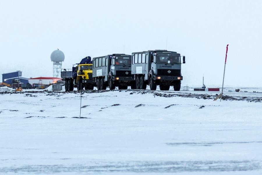 """Как выглядит военная база РФ """"Арктический трилистник"""" рядом с Северным полюсом"""