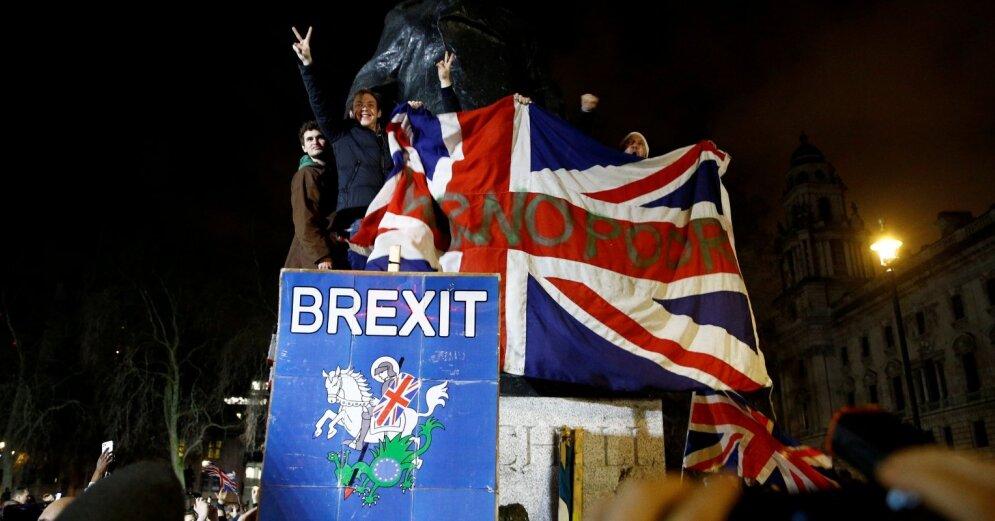 В ночь на субботу 1 февраля состоялся официальный выход Великобритании из состава ЕС