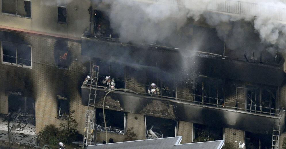 Смертельный поджог аниме-студии в Японии: найдены новые жертвы (фото)