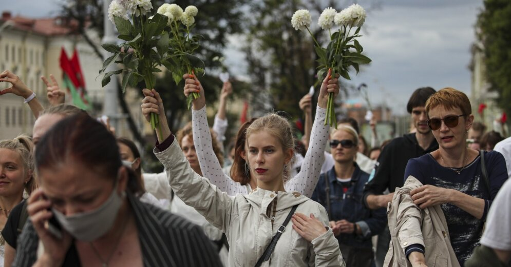 Тихановская в новом обращении потребовала прекратить насилие