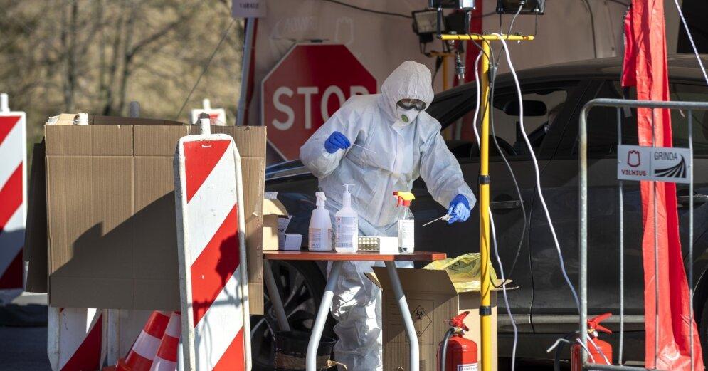 Lietuvā ar jauno koronavīrusu inficējušos skaits sasniedzis 491...