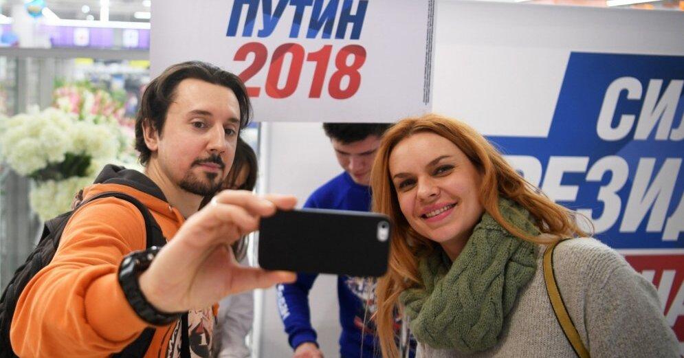 """Кандидат в президенты РФ """"проиграл"""" усы (видео)"""