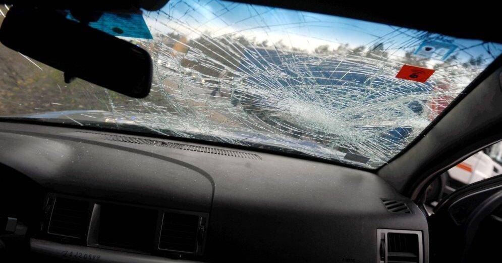 В Лиепае маршрутный автобус тяжело травмировал пешехода