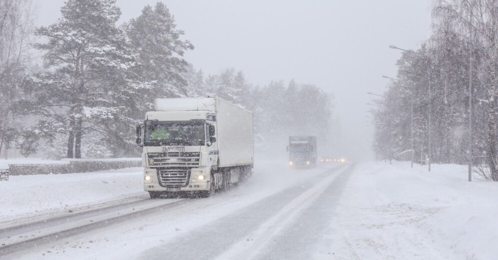 Завтра в Украине снова ожидается снег