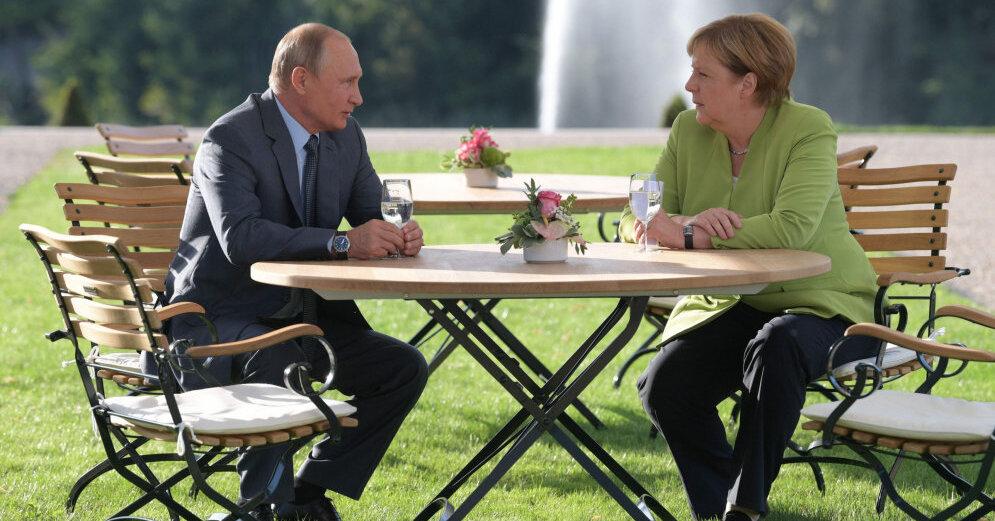 Путин заявил Меркель, что намерен продолжать практику общения с немецким бизнесом - Песков