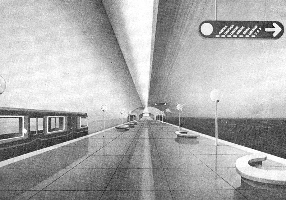 Эскизы шести станций рижского метро, или От Засулаукса до ВЭФ за 12 минут
