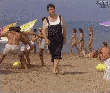 Fantastiska diena pludmalē