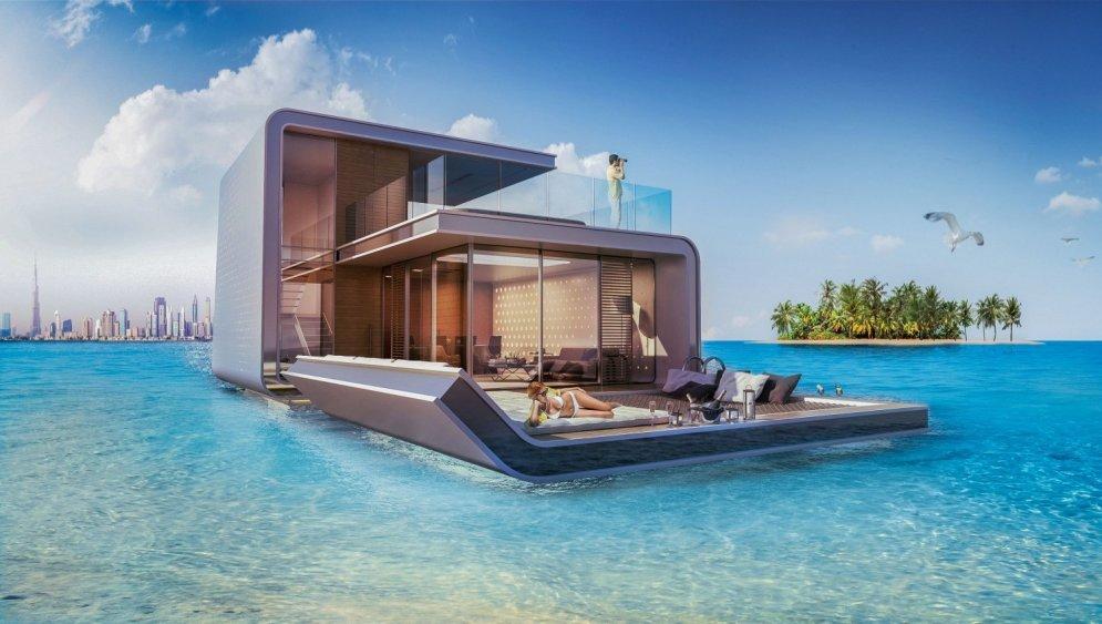 Uzbūvētas pasaulē pirmās mājas dzīvošanai zem ūdens