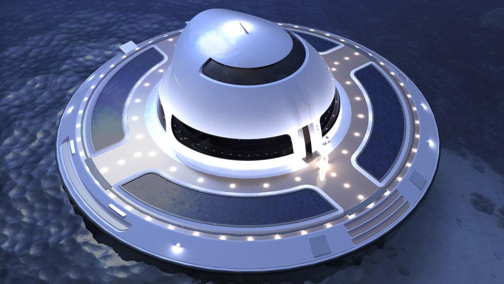 ФОТО: Дом-НЛО, в котором ты с комфортом переживешь скорый конец света