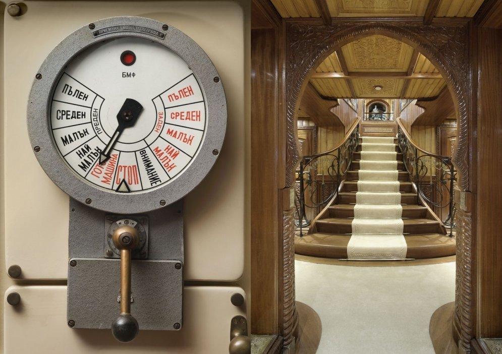Padomju laika spiegu kuģis, kas pārvērsts par luksusa jahtu